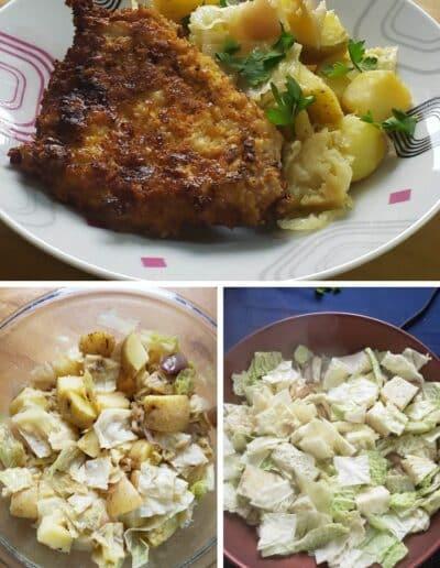 Pork Schnitzel with Warm Cabbage 4