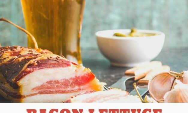 Tasty Bacon Lettuce Cups