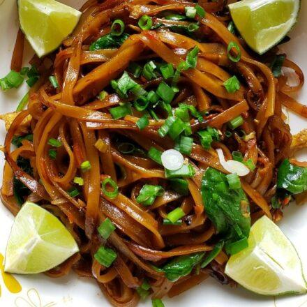 Vegetarian Pad Thai 1