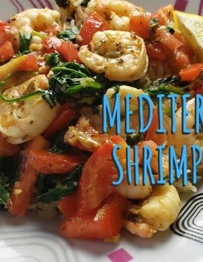 Mediterranean Shrimp Scampi 1