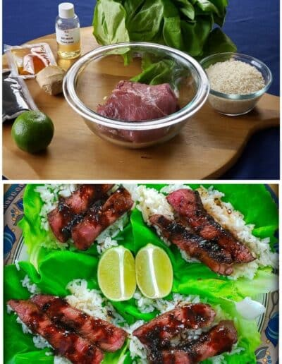 Korean Steak Lettuce Cups 1