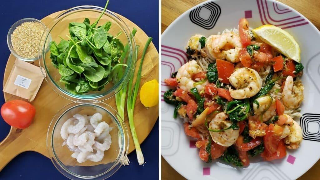 Mediterranean Shrimp Scampi