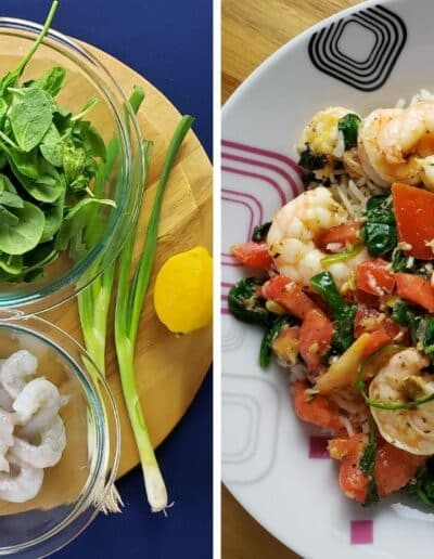 Mediterranean Shrimp Scampi 2