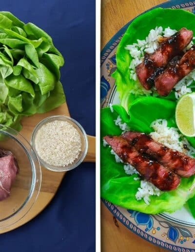 Korean Steak Lettuce Cups 2