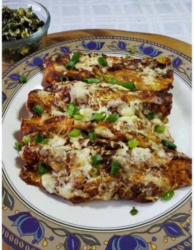 Vegetable Enchiladas 4