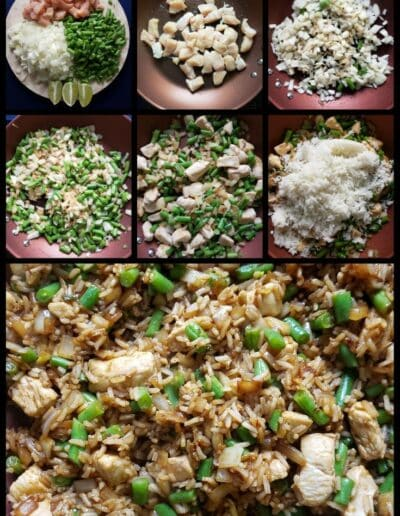 Chicken Fried Rice with Basil 234