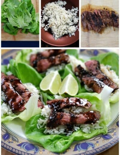 Korean Steak Lettuce Cups 4