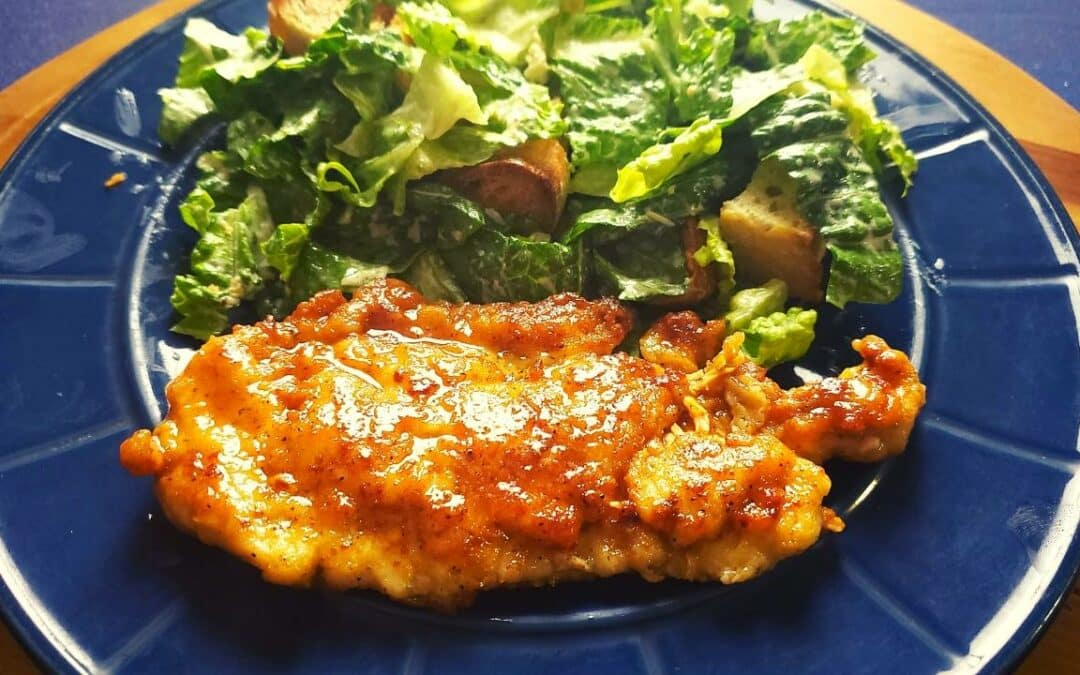 Tasty Lemony Chicken Francese Recipe