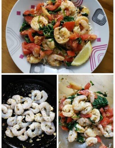 Mediterranean Shrimp Scampi 4