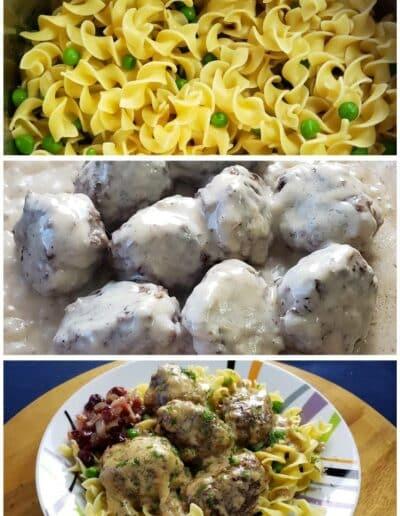 Creamy Swedish Meatballs 5