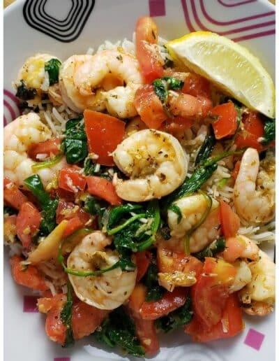 Mediterranean Shrimp Scampi 5