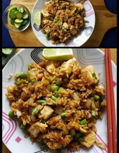 Chicken Fried Rice with Basil 237