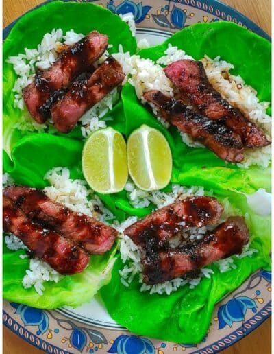 Korean Steak Lettuce Cups 7