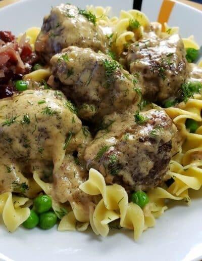 Creamy Swedish Meatballs