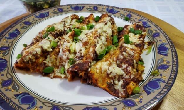 Vegetarian Enchiladas and best cheap tequila for margaritas