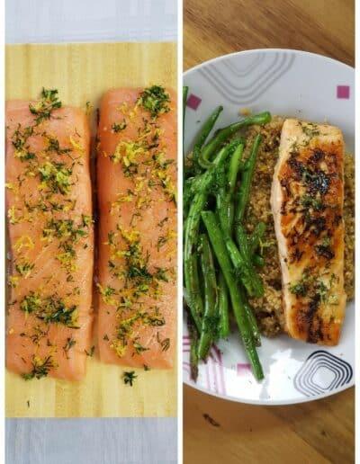 Lemon Dill Salmon 1