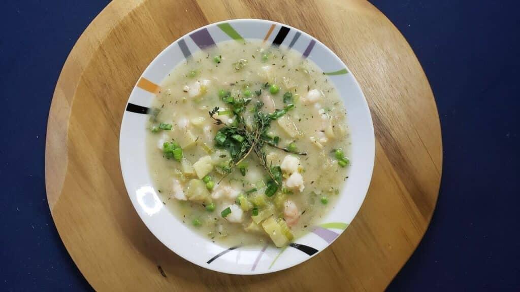 Shrimp & Potato Chowder