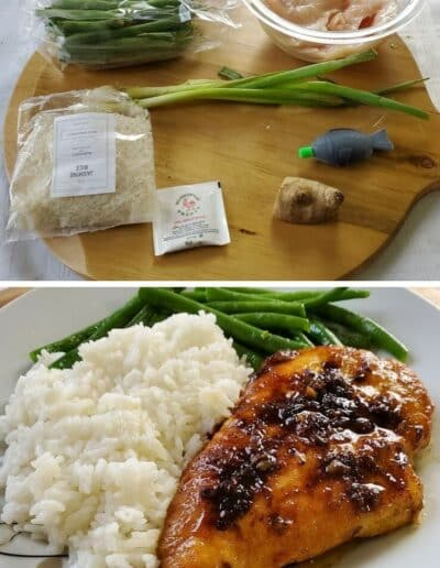 Garlic-Tamari Chicken with Sautéed Green Beans 2