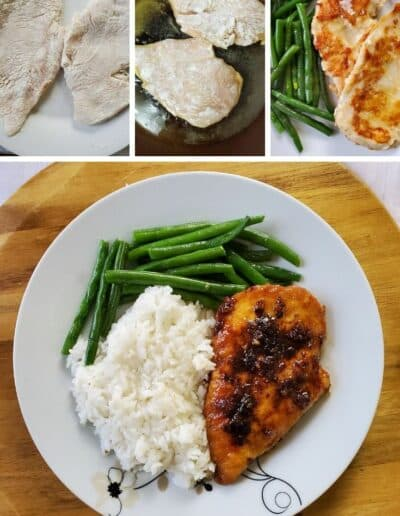 Garlic-Tamari Chicken with Sautéed Green Beans 4