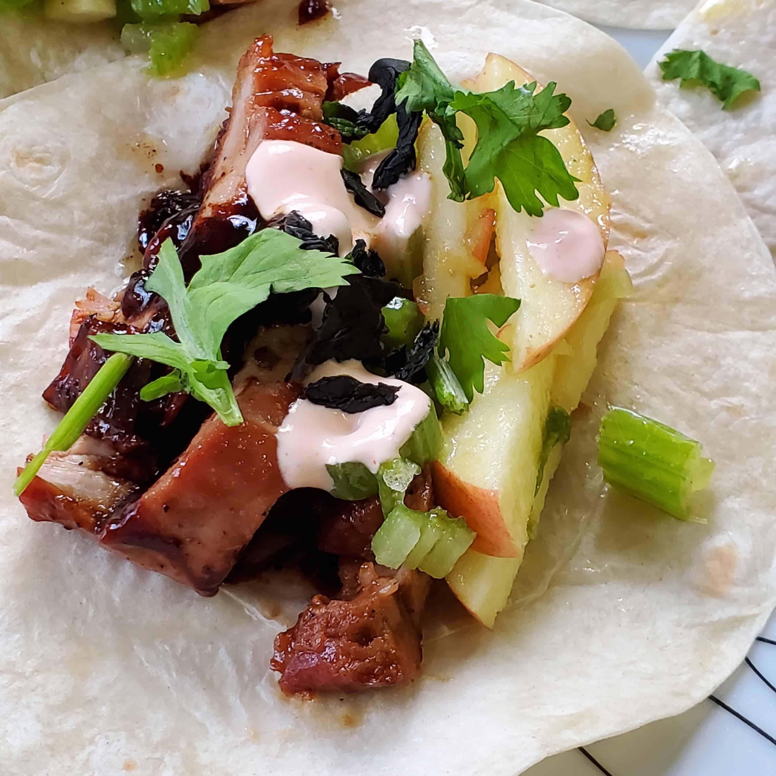 BBQ Pork Tenderloin Tacos Recipe