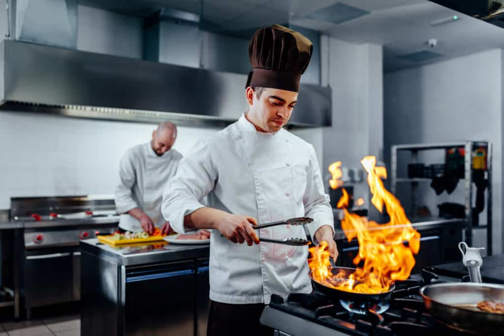 He;s got a special cooking skill