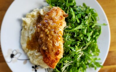 Fontina-Sage Stuffed Chicken and a wine pairing