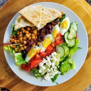 Vegetarian Greek Cobb Salad