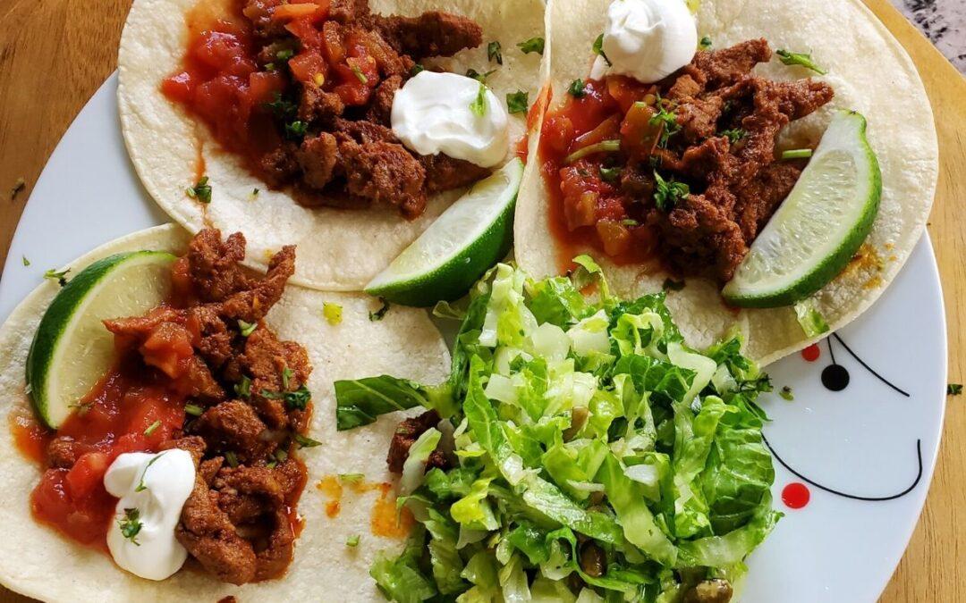 Carne Asada Tacos and Petite Sirah wine pairing