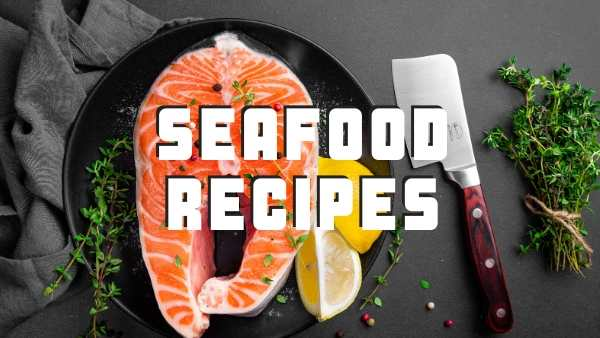 Seafood recipes header image