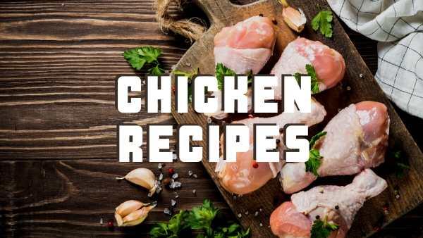 Chicken recipes header image