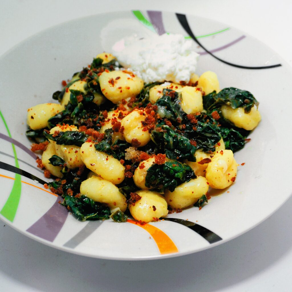 Gnocchi with Kale