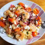 Greek Style Shrimp scampi