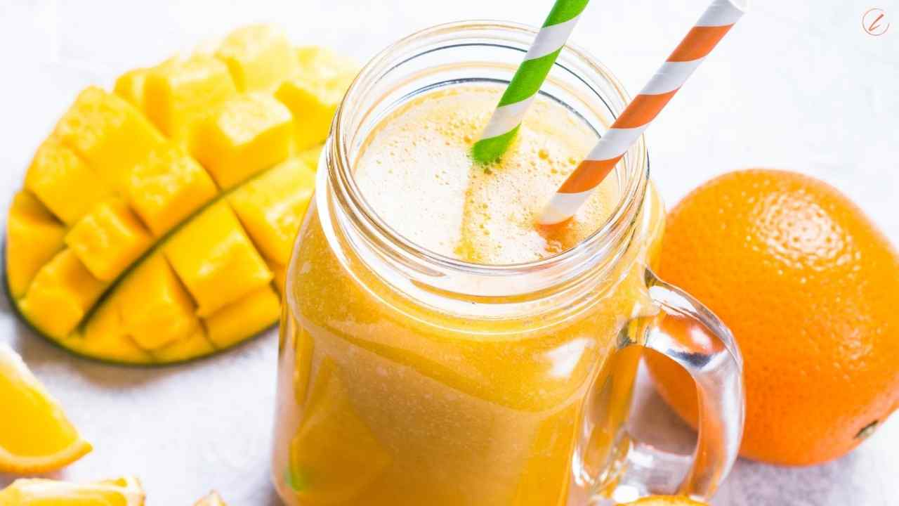 Gentle Tropical Papaya Smoothie