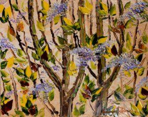 Alexandre Renoir Burst of Lilacs