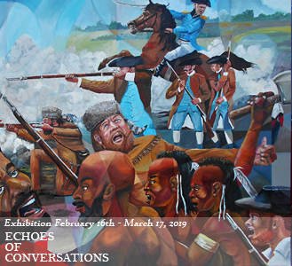 Echoes of Conversations - Black History Month Art Exhibition
