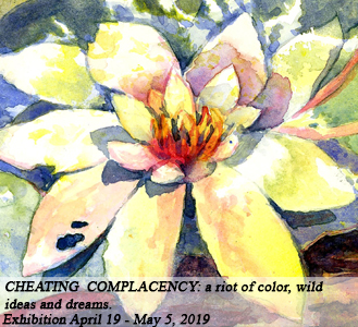 CHEATING COMPLACENCY: A riot of color, wild ideas and dreams.