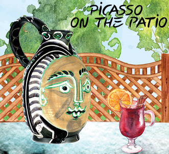 Picasso on the Patio at the MACC