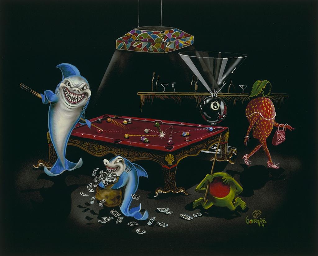 Michael Godard, Pool Shark Bar Back