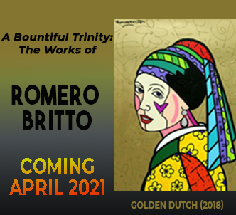 Romero Britto at Monthaven Arts and Cultural Center