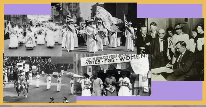 Rightfully Hers Women's Suffragette Exhibition