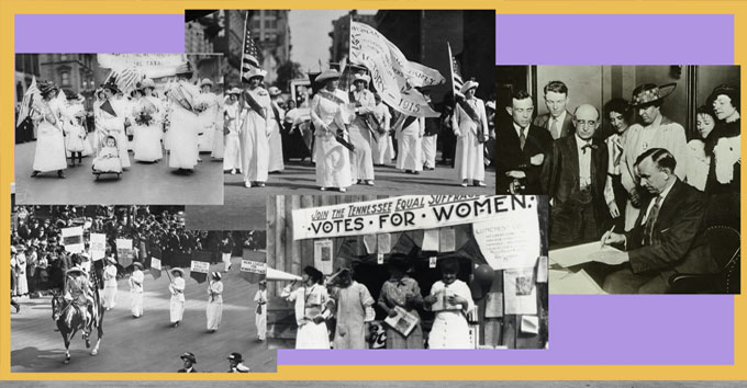 Rightfully Hers Women's Suffragette Exhibition