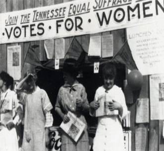 Women's Right to Vote Exhibition