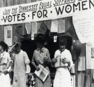Women's Right to Vote Exhibition