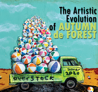 The Artistic Evolution of Autumn de Forest