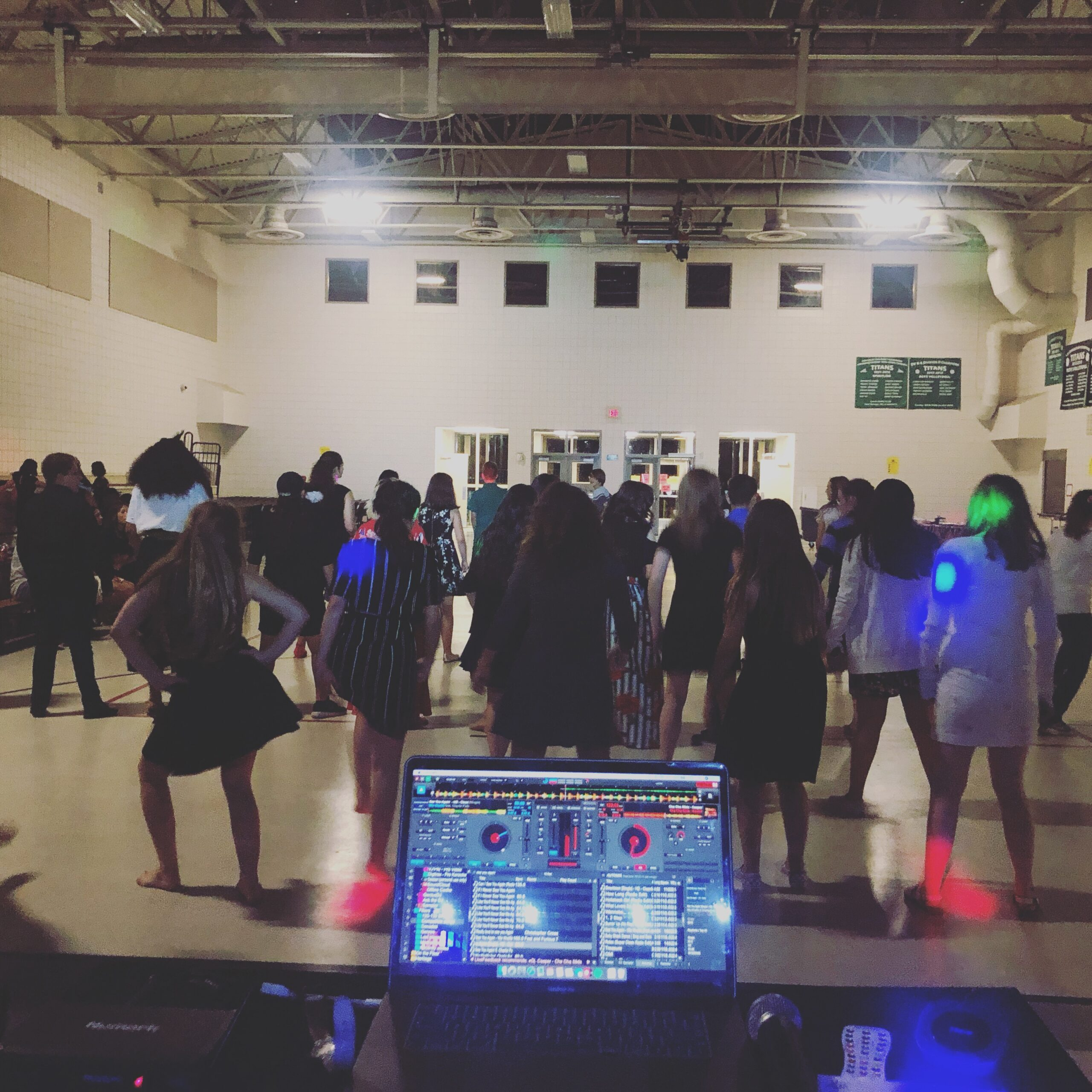 Kids dance at DJ Dance Party