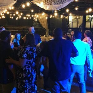 Wedding party in cave creek