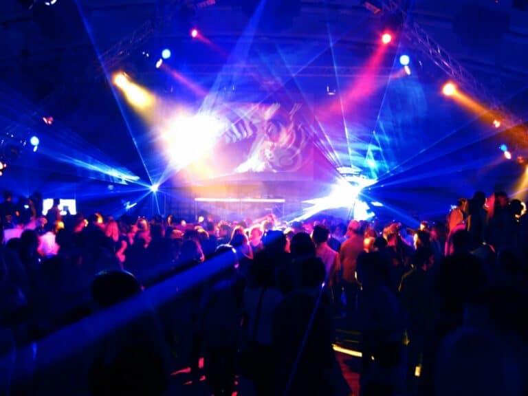 dj lighting service big venue party