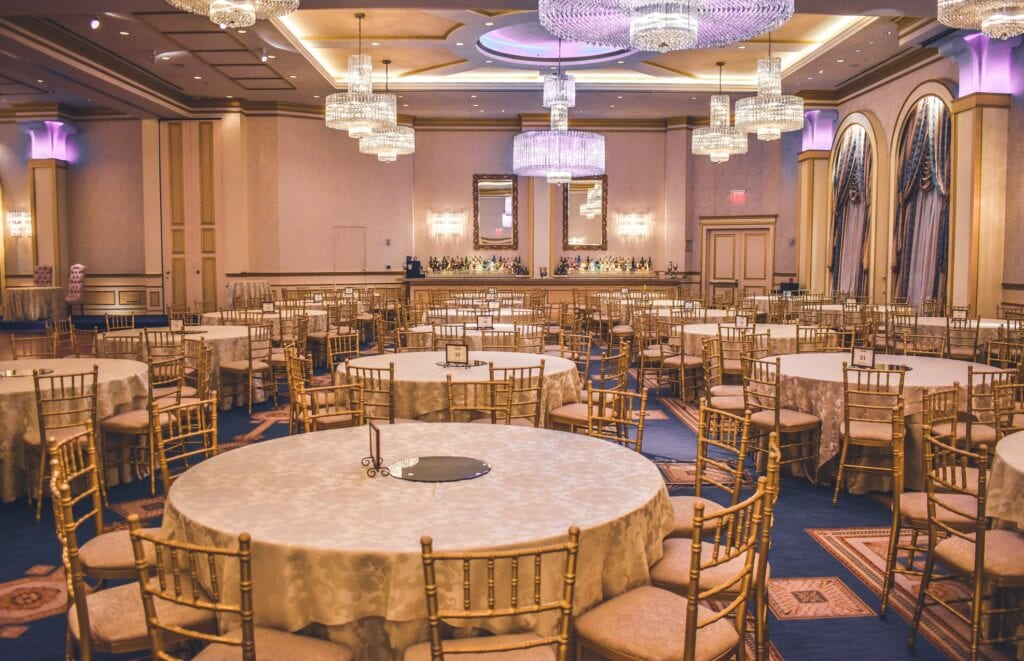 Large event space for Quincenera