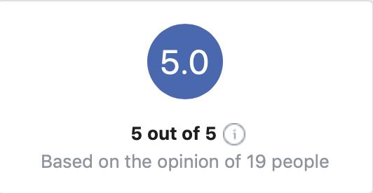 5 star facebook reviews