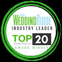 Elite Wedding Guide top 20 winner 2020 c west entertainment